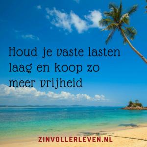 Lage vaste lasten zorgen voor meer keuzevrijheid zinvollerleven.nl