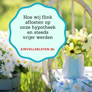aflossen voor meer vrijheid zinvollerleven.nl