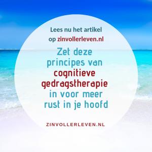 cognitieve gedragstherapie CGT zinvollerleven.nl