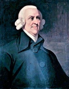 Portret van Adam Smith