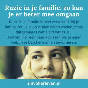 Ruzie in je familie zinvollerleven.nl 2020