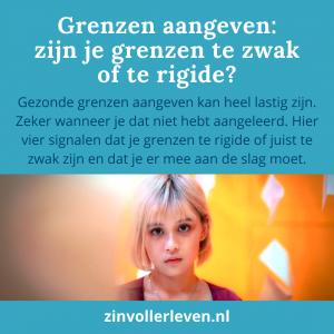 grenzen aangeven zinvollerleven.nl