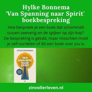 Bonnema 'Van Spanning naar Spirit' – boekbespreking